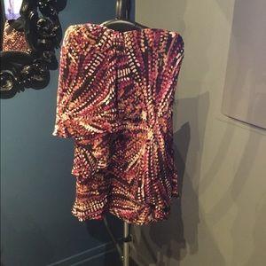 BCBG strapless size 6 dress